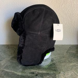 New! UGG Shearling Trapper Hat women L/XL
